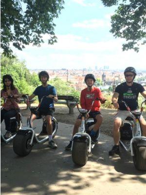 E-scooter tour Praag