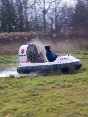 Hovercraft Praag