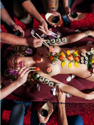 Naked Sushi Praag