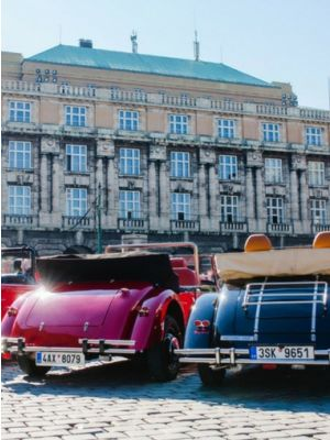 Oldtimer tour Praag