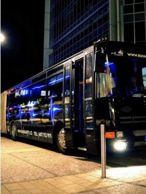 Party bus Praag