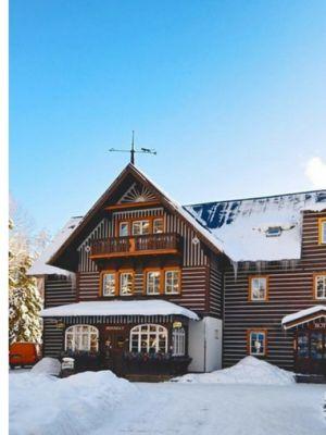 Wintersport hotel Zatisi Spindleruv Mlyn Tsjechië