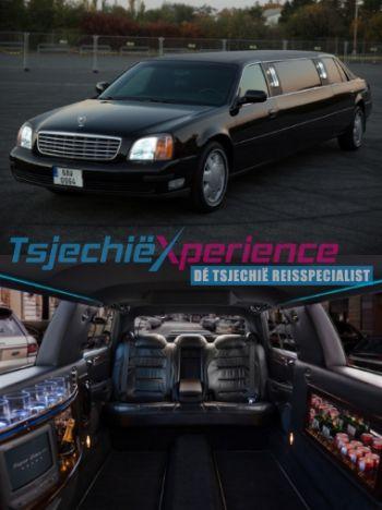 Cadillac limousine Praag - max. 6 personen