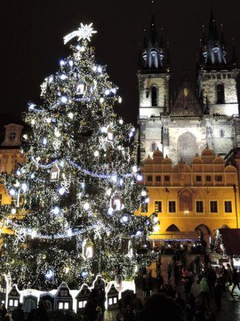 Praag met kerst - Kerstmarkt Praag