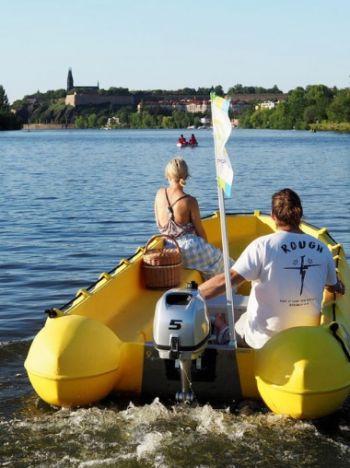 Motorboot huren Praag