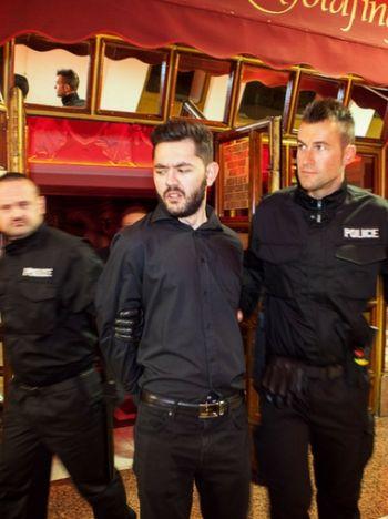 Politie arrestatie prank