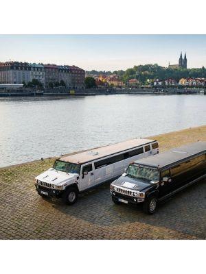 Hummer limousine Praag
