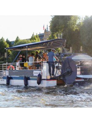 Bier- of Prosecco fietsboot Praag