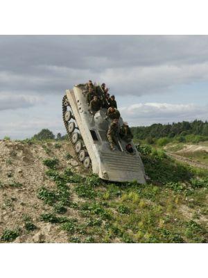 Tank rijden Praag